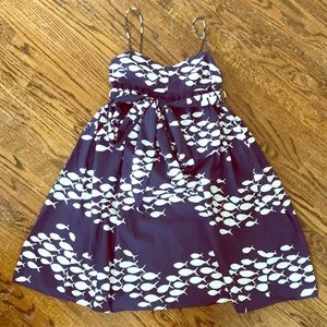 J. Crew 4 school of fish dress rare sundress